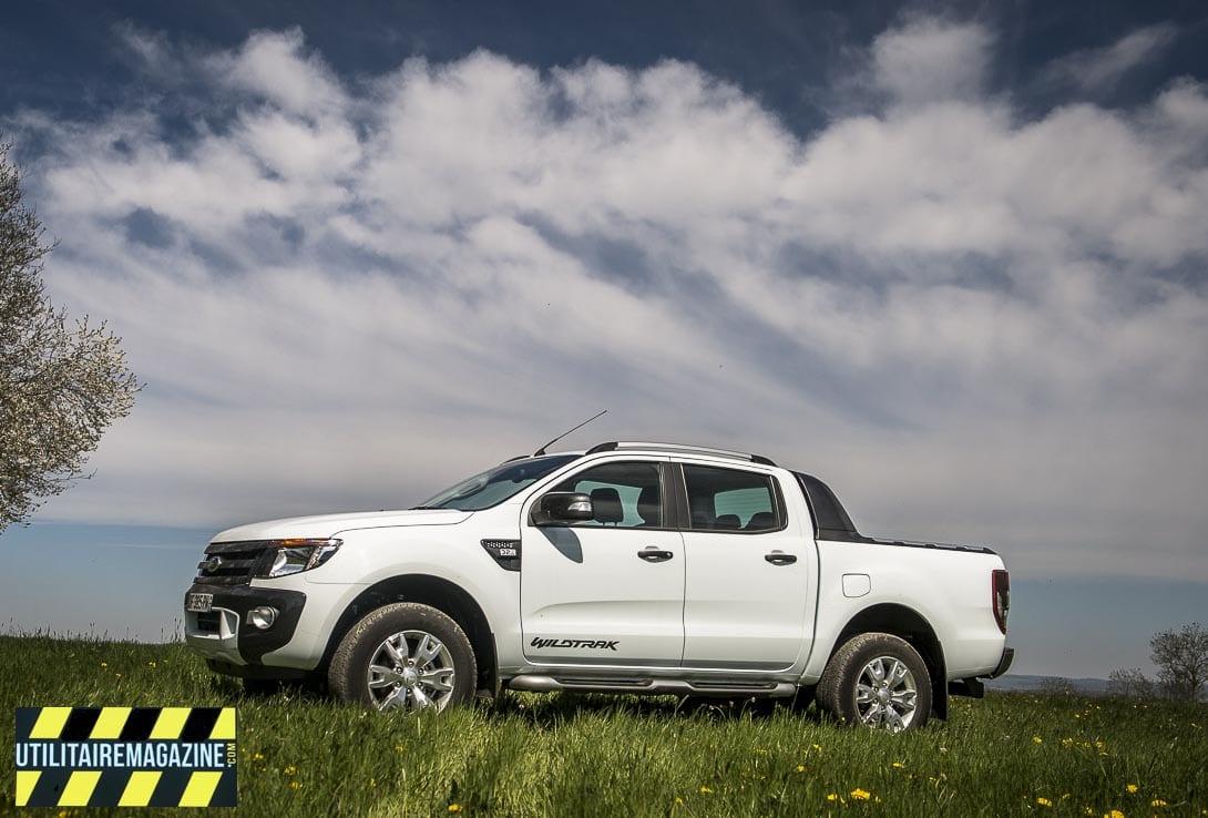Utilitaire Ford Ranger Pick Up, pas de TVS, pas de taxe CO2 mais la TVA n'est pas récupérable sur ce modèle double cabine