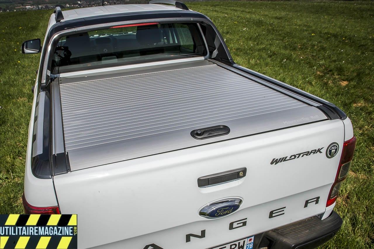 taille et dimension de la benne du pick up ford ranger