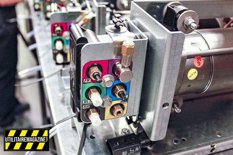 Le groupe compresseur du système pneumatique VB Full Air 4C