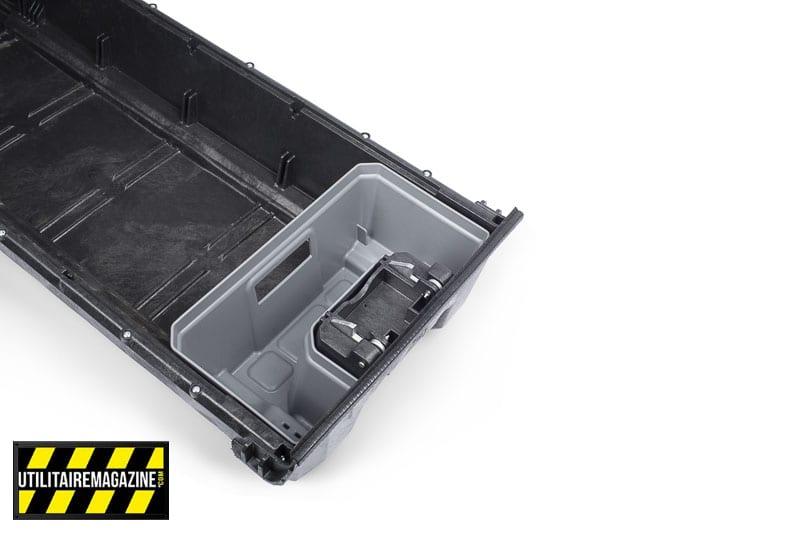 Différentes boîtes permettent d'équiper ses tiroirs Decked.
