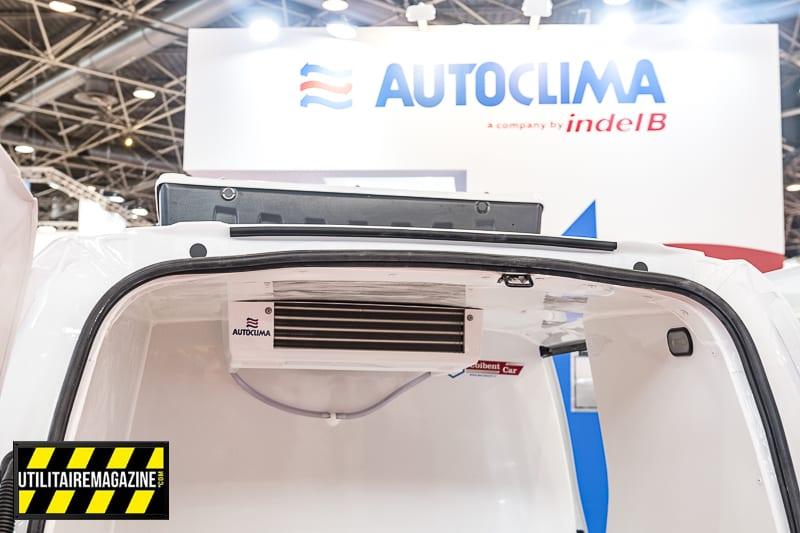 La gamme Frosty RW d'Autoclima propose deux versions pour chaque modèle : froid positif ou -20°.