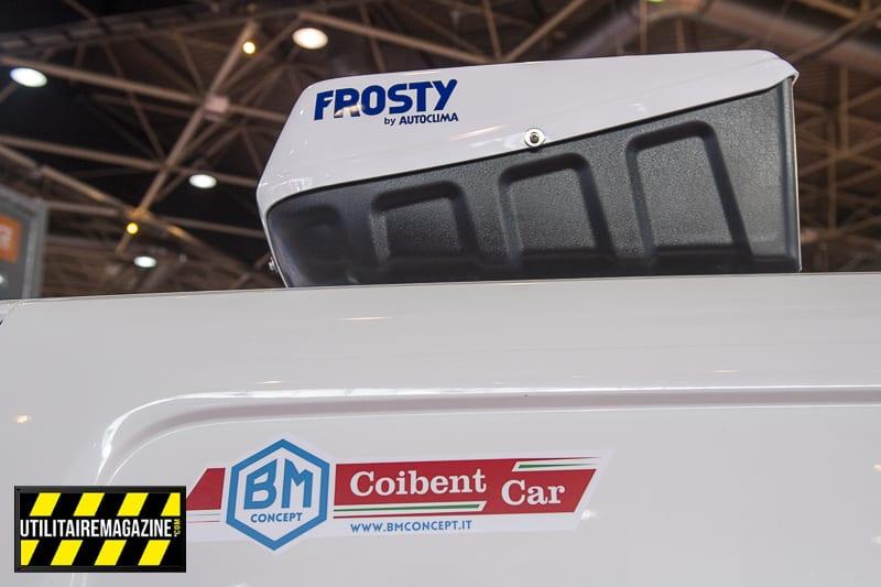 Sur ce Peugeot Partner, le cellule isotherme a été réalisée par BM Concept.
