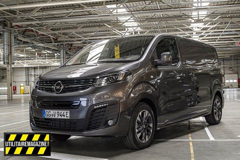 Essai Opel Vivaro-e