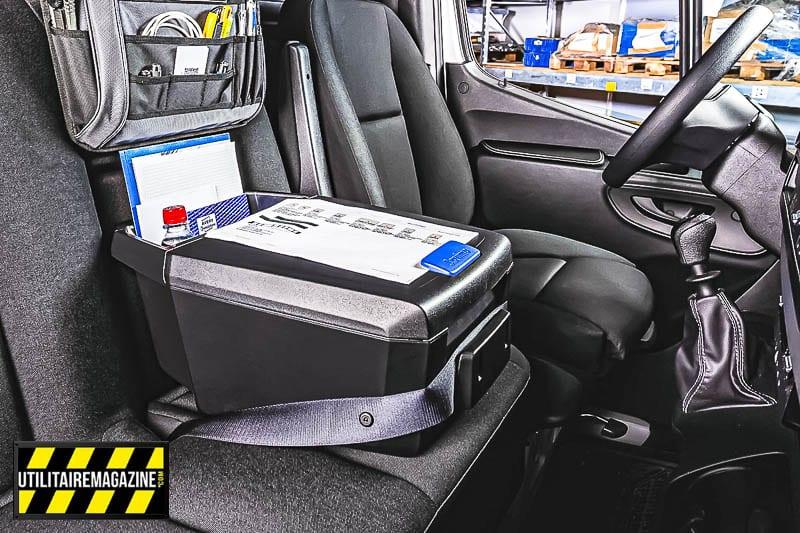 Box de rangement auto assistant