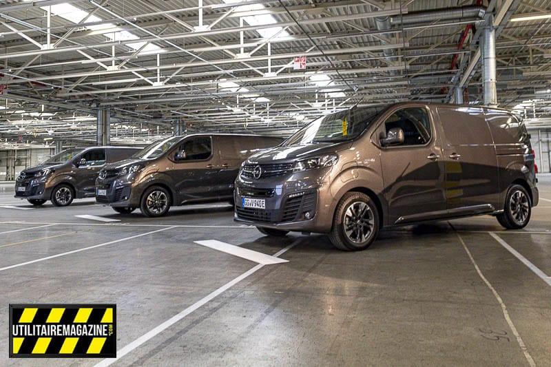 Le Vivaro-e est le premier utilitaire 100 % électrique de la marque Opel