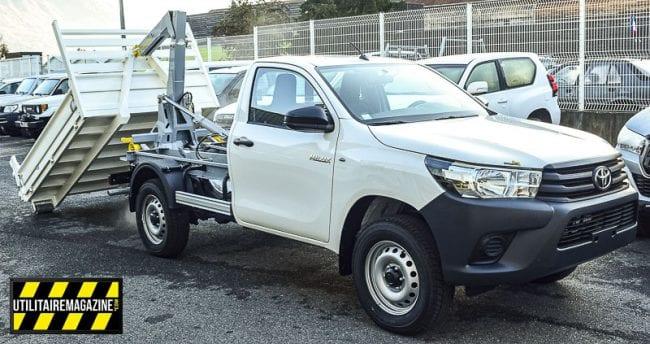 Ici présenté sur un pick up Toyota HiLux, le bras est aussi compatible avec les Isuzu Dmax.