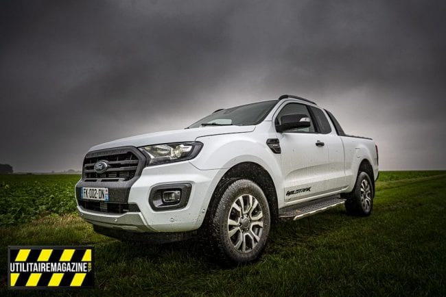 Le pick up Ford Ranger est le leader des ventes en Europe
