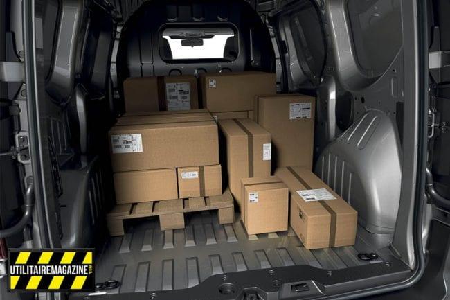 Renault Express Van : volume de chargement de 3.3 m3 à 3.7 m3