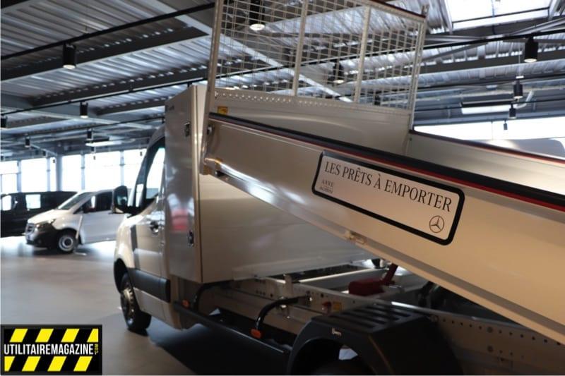 Sprinter benne prêt à emporter chez ANVU Groupe Aubin