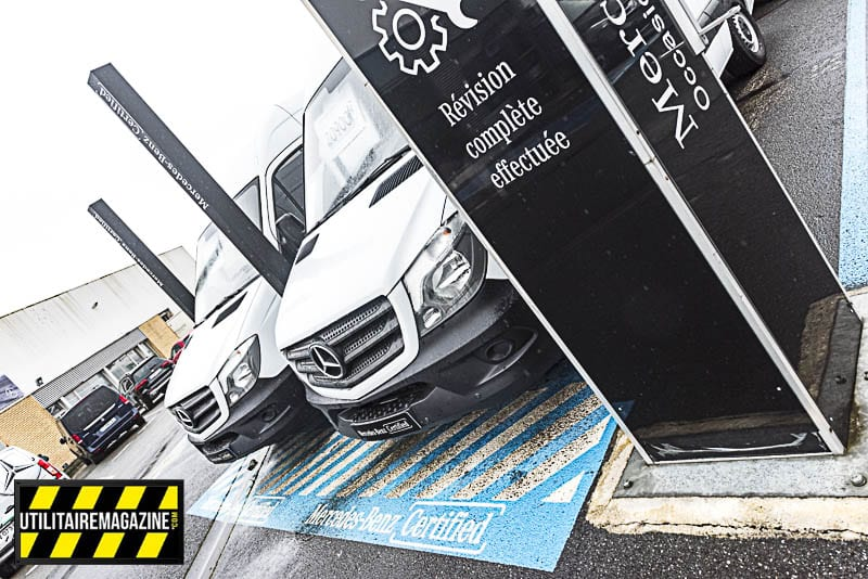 Mercedes utilitaire d'occasion Certified