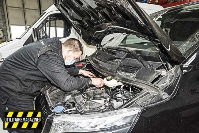 Les véhicules utilitaires font l'objet de 70 points de vérification avant de pouvoir bénéficier du label Mercedes-Benz Certified.