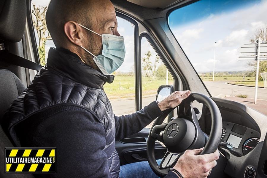 Clément nous donne son avis sur le eSprinter. Sa société APE dans les Ardennes a plus de 40 véhicules utilitaires et est spécialisée dans la peinture, le ravalement et l'isolation.