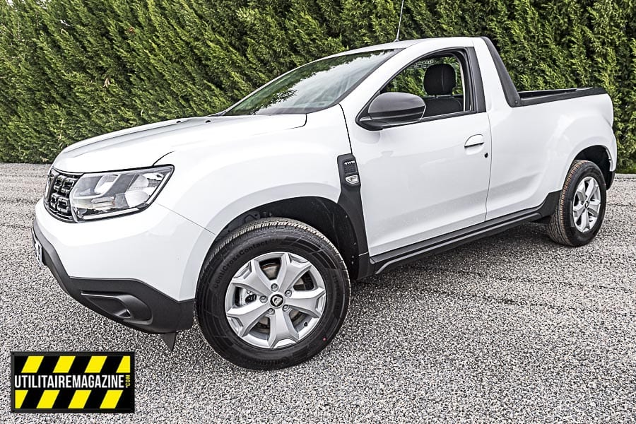 Dacia Duster pick-up.
