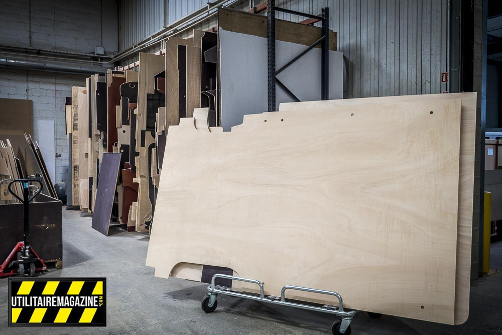 Un kit complet d'habillage en bois pour utilitaire